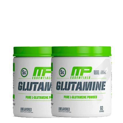 2 GLUTAMINA 300G - MUSCLE PHARM