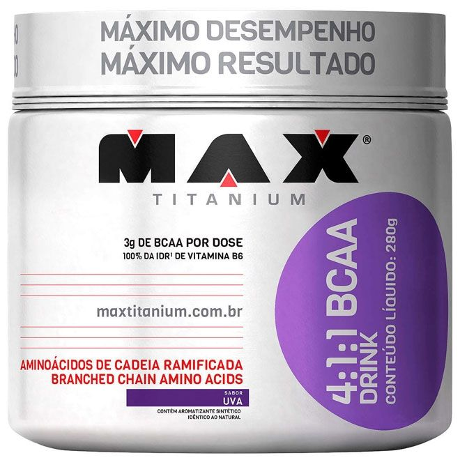 4:1:1 BCAA DRINK 280gr - MAX TITANIUM