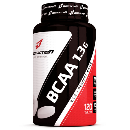 BCAA 1.3G 120 TABS - BODY ACTION