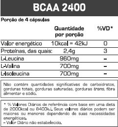 BCAA 2400 60 CAPS - MAX TITANIUM