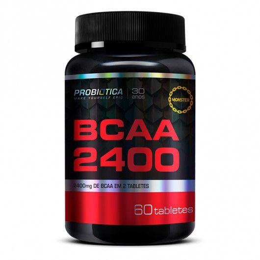 BCAA 2400 60 CAPS - PROBIÓTICA