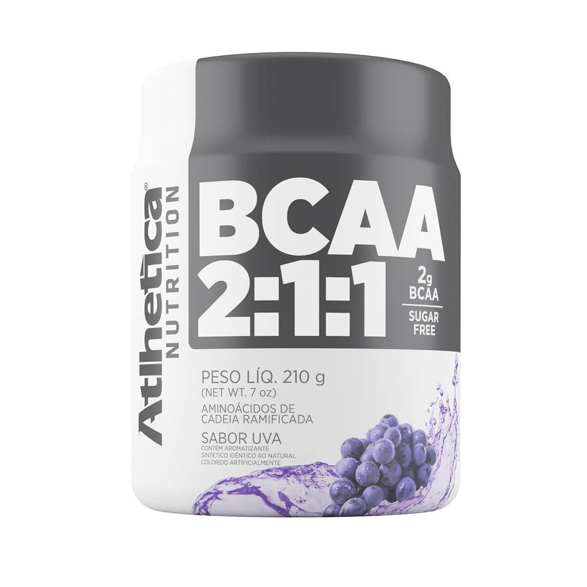 BCAA 2:1:1 - 210G - ATLHETICA NUTRITION