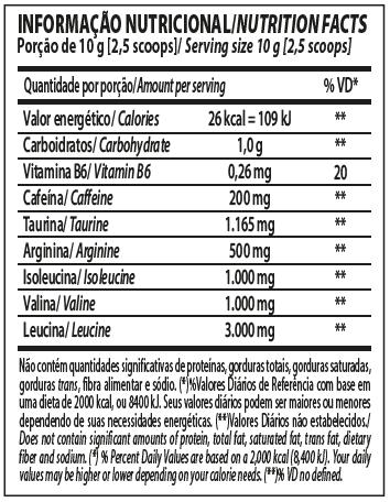 BCAA ENERGY 240G - INTEGRALMEDICA