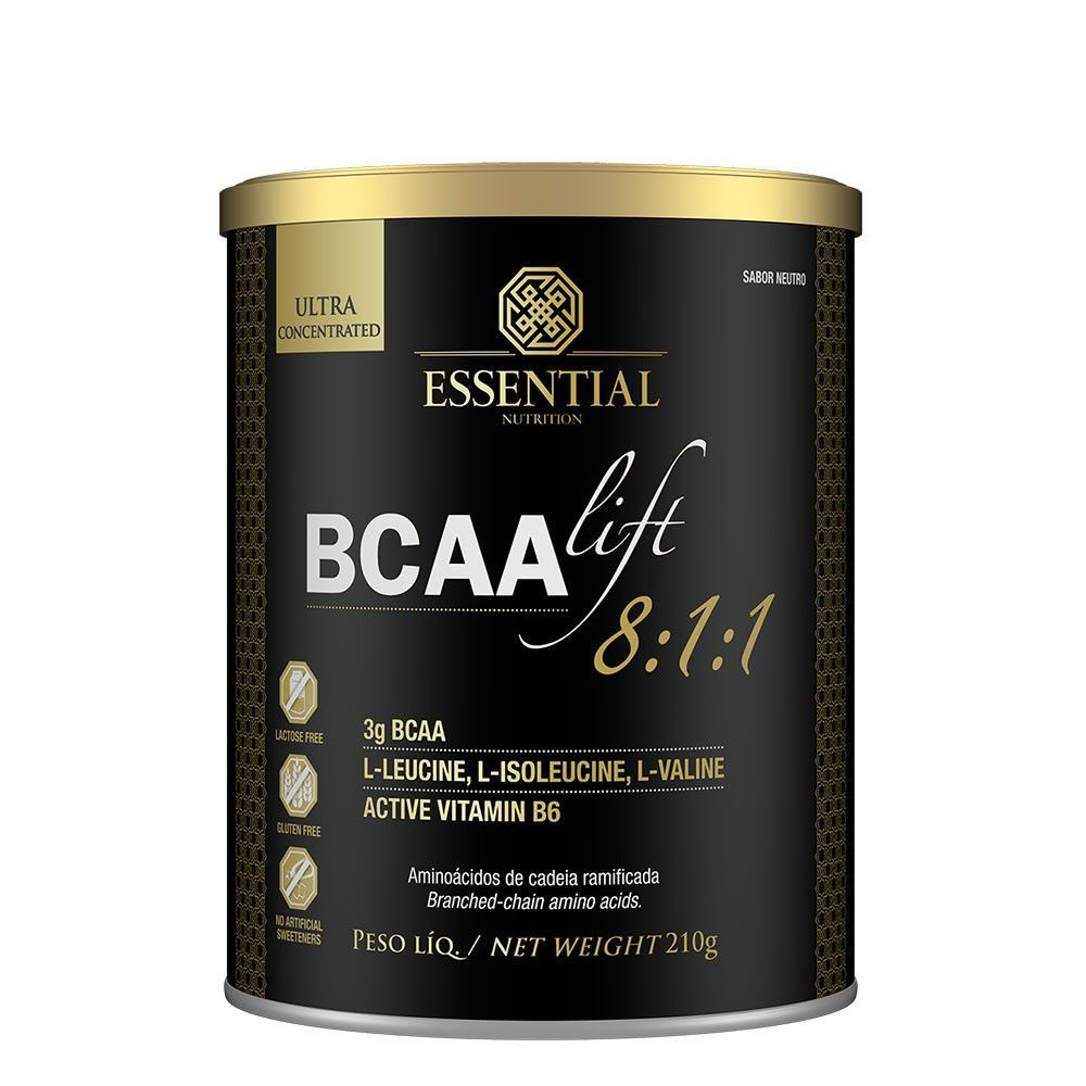 BCAA LIFT 8:1:1 210gr - ESSENTIAL NUTRITION