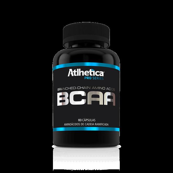 BCAA PRO SERIES (60 CAPSULAS) - ATLHETICA NUTRITION