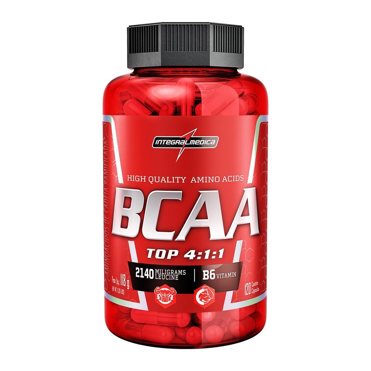 BCAA TOP 120 CAP - INTEGRALMÉDICA