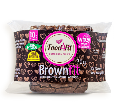 BROWNFIT 70G - FOOD4FIT