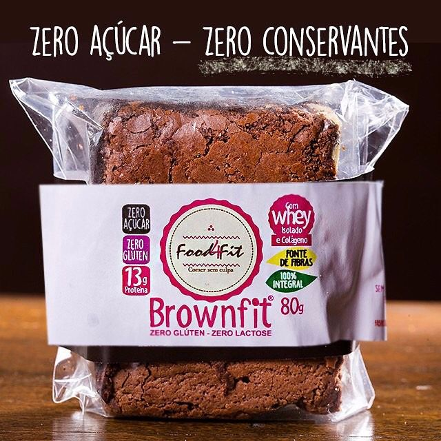 BROWNFIT LOW CARB 100G - FOOD4FIT