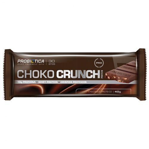 CHOKO CRUNCH PROTEIN CHOCO AO LEITE 40 GR - PROBIÓTICA