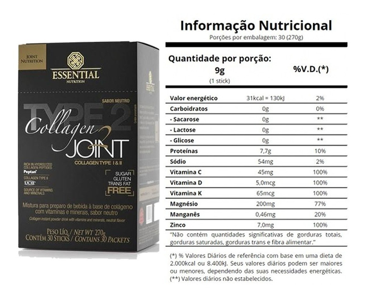 COLLAGEN JOINT 270gr - ESSENTIAL NUTRITION