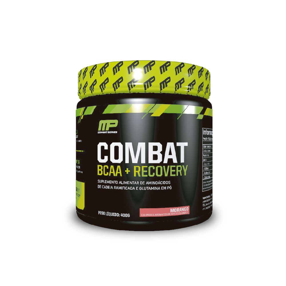 COMBAT BCAA + RECOVERY - MUSCLE PHARM  400G