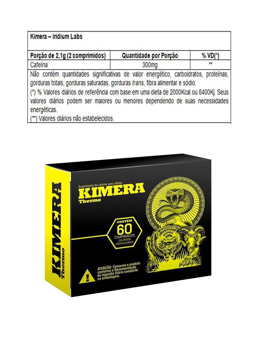 COMBO 2 KIMERA THERMO 60 TABS + BCAA 2:1:1 60 CAPS + COLÁGENO 100 CAPS