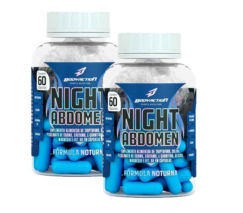 COMBO 2 NIGHT ABDOMEN 60 CAPS - BODYACTION
