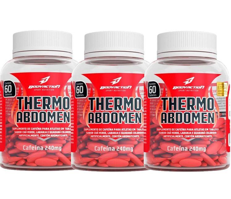 COMBO 3 THERMO ABDOMEN 60 TABS - BODYACTION