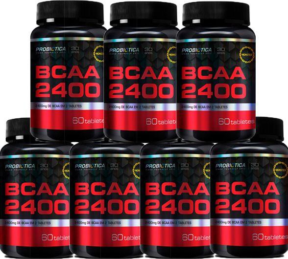 COMBO 7 BCAA 2400 60 CAPS - PROBIÓTICA