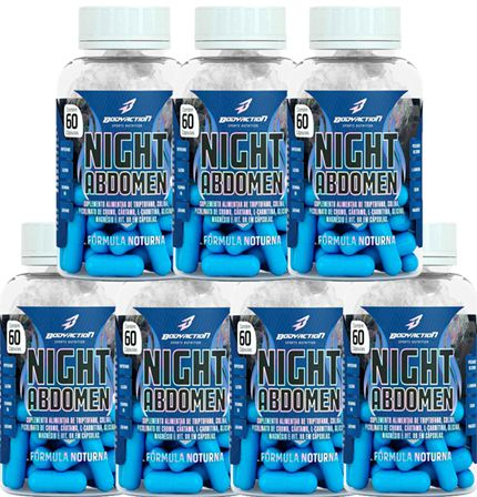 COMBO 7 NIGHT ABDOMEN 60 CAPS - BODYACTION