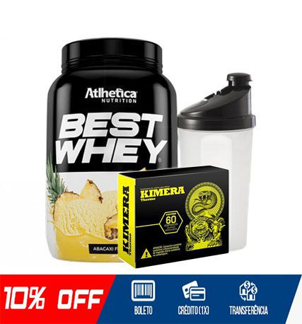 COMBO FIQUE EM FORMA- BEST WHEY 900gr + KIMERA