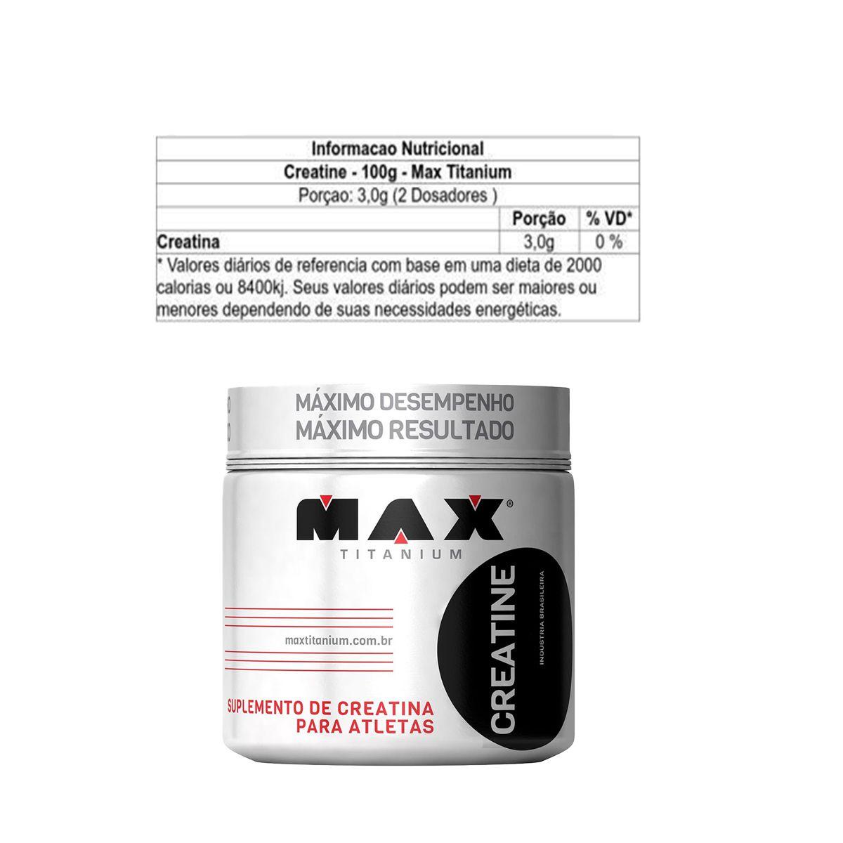 COMBO GANHOS MAX - MASS TITANIUM + BCAA + CREATINA