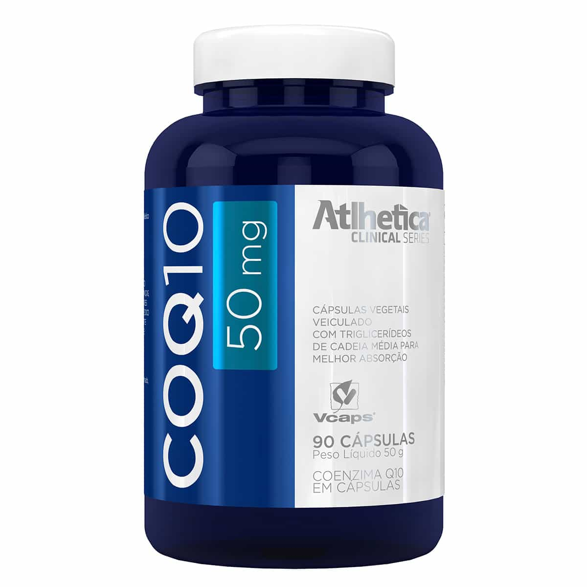 COQ10 50 mg (90 CAPSULAS) - ATLHETICA NUTRITION
