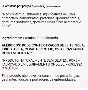 CREATINA 100% CREAPURE - POTE 100g - DUX NUTRITION