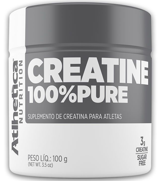 CREATINA 100% PURE 100G - ATLHETICA NUTRITION