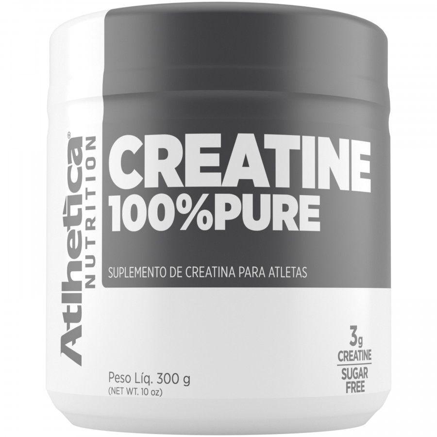 CREATINA 100% PURE 300G - ATLHETICA