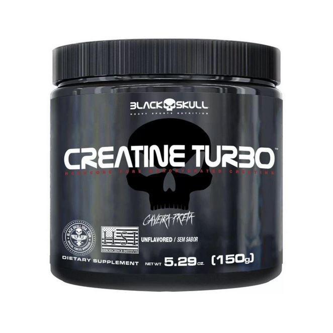 CREATINE TURBO 150gr - BLACK SKULL