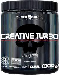 CREATINE TURBO - 300G - Black Skull