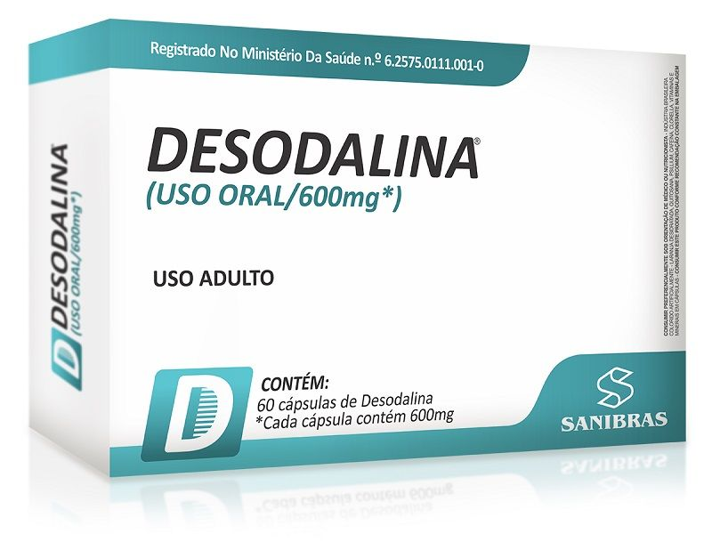 DESODALINA 60 CAPS - POWER SUPPLEMENTS