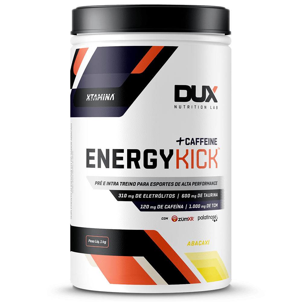 Energy Kick Caffeine - Pote 1000g - Dux Nutrition