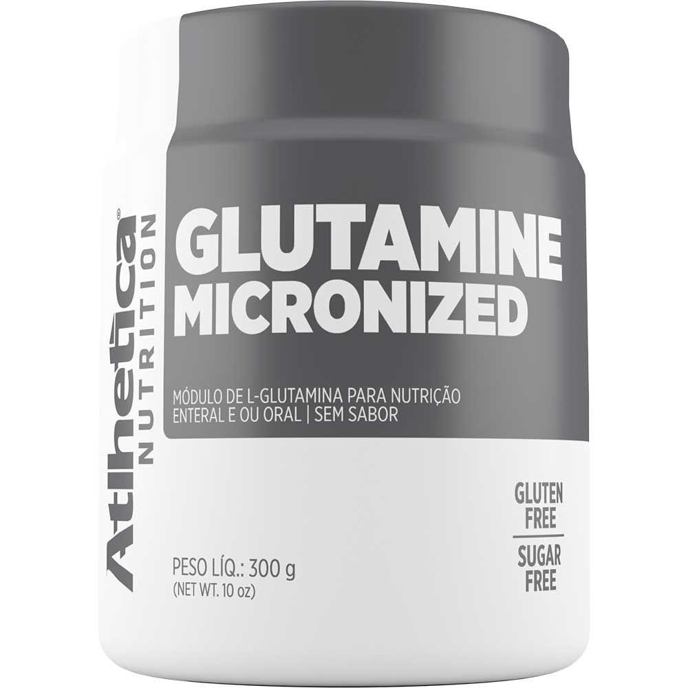 GLUTAMINA MICRONIZED 300G - ATLHETICA NUTRITION
