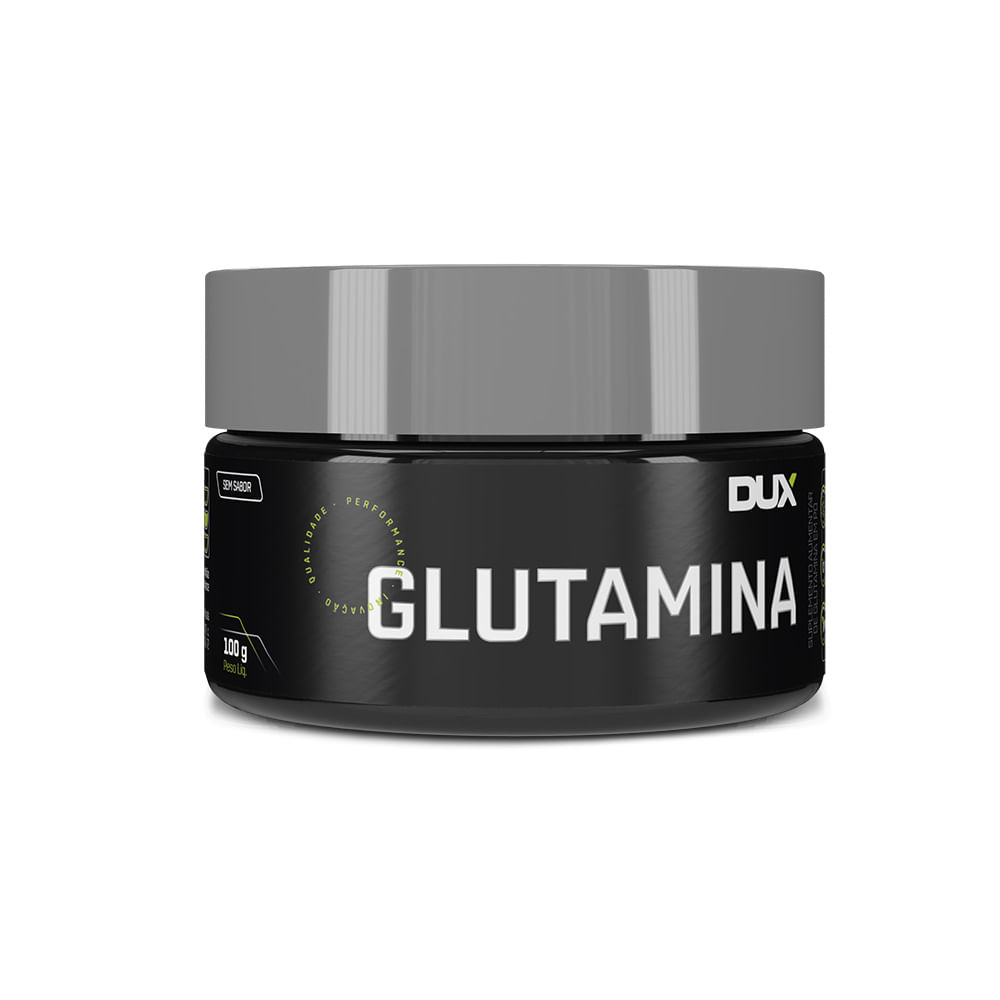 GLUTAMINA - POTE 100G - DUX NUTRITION