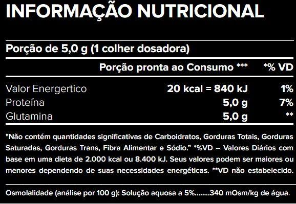 GLUTAMINE VEGAN - 300G - ATLHETICA NUTRITION