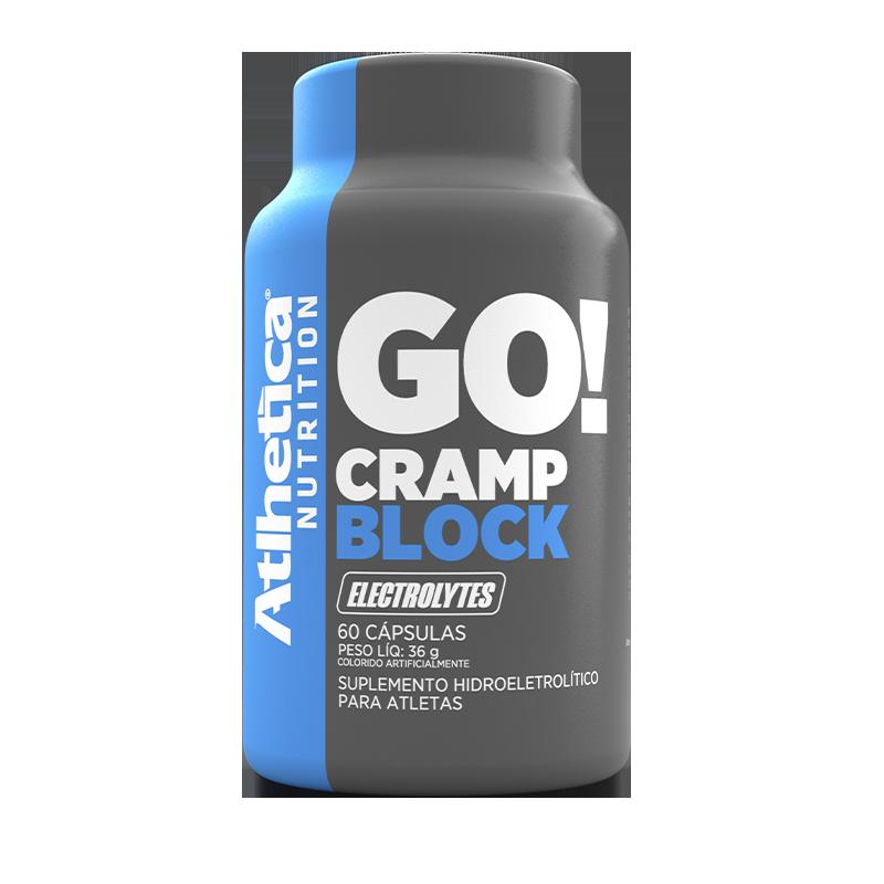 GO! CRAMP BLOCK (60 CÁPSULAS) - ATLHETICA NUTRITION