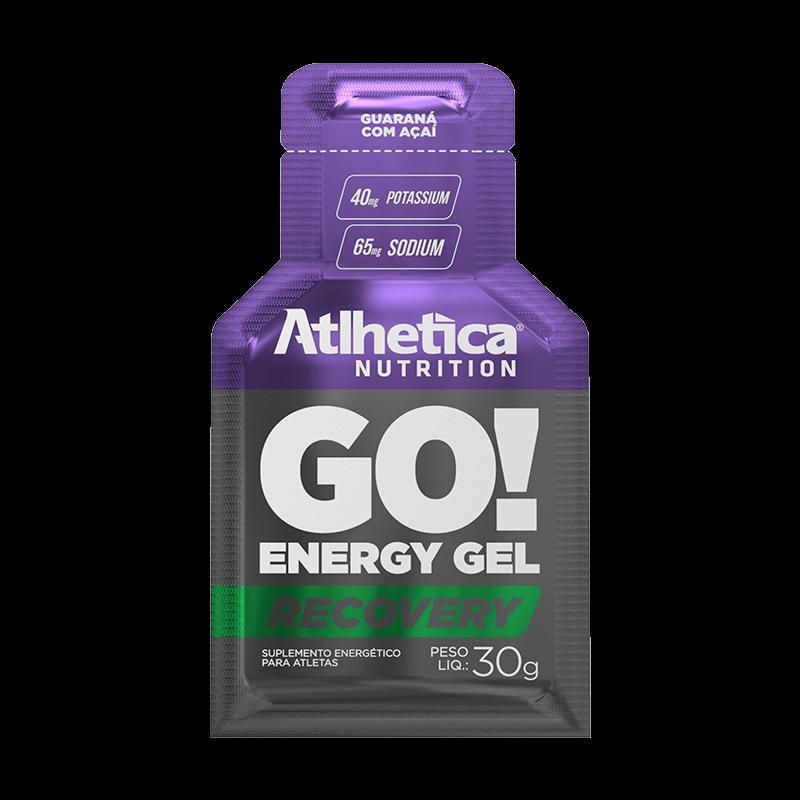 GO! ENERGY GEL RECOVERY - ATLHETICA NUTRITION
