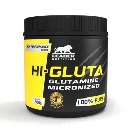 HI-GLUTA MICRONIZED 100% PURE 300G - LEADER NUTRITION