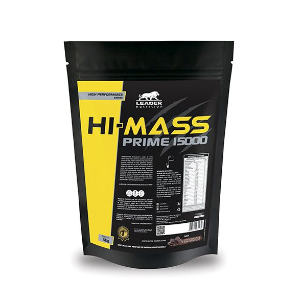 HI PRIME MASS 1500 - 3KG - LEADER NUTRITION