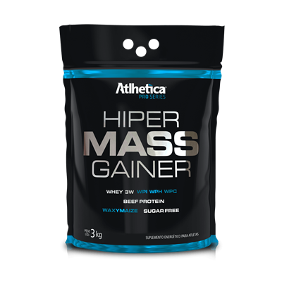 HIPER MASS GAINER PRO SERIES 3K - ATLHETICA NUTRITION