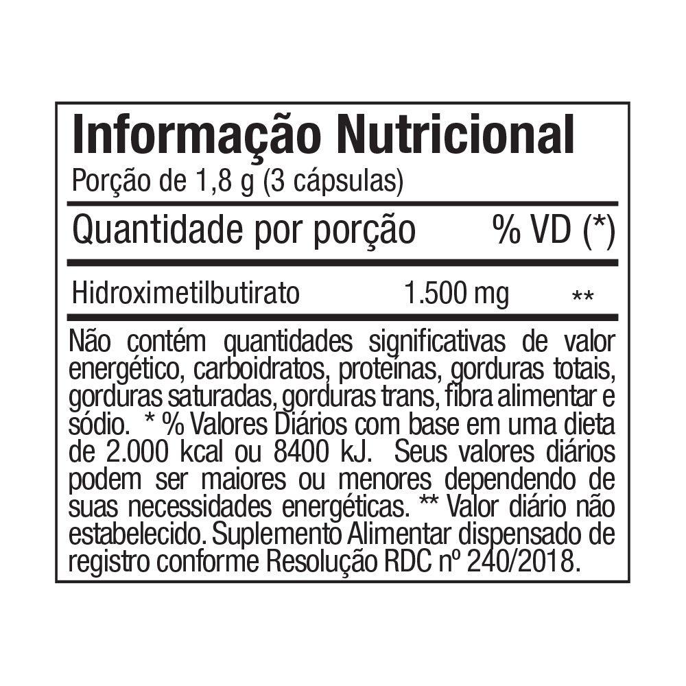 HMB HIDROXIMETILBUTIRATO FTW 500mg - 90 CÁPS
