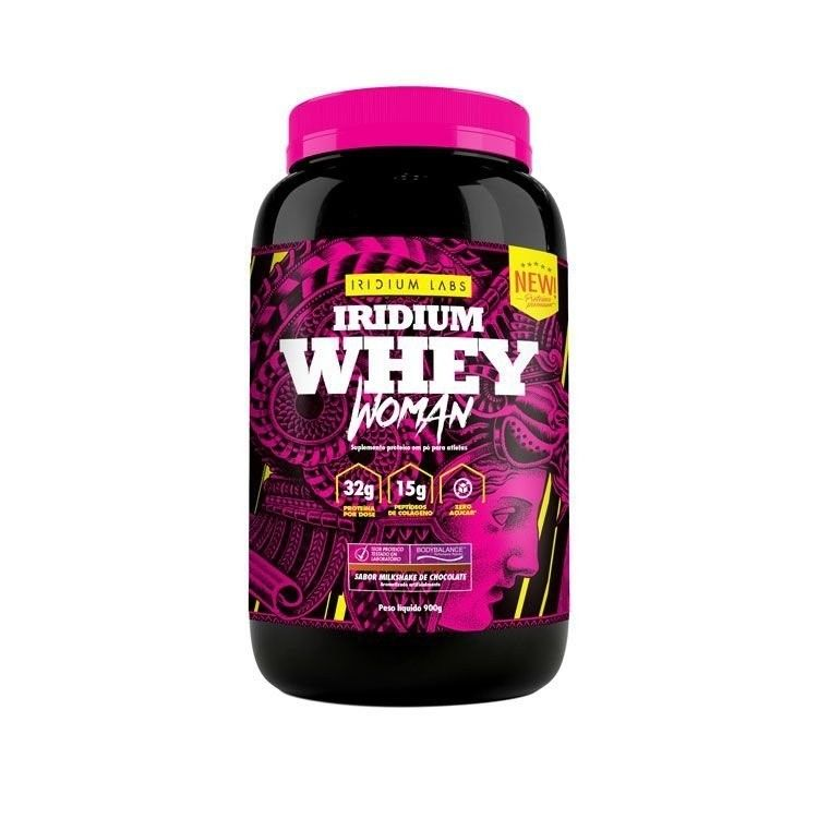 IRIDIUM WHEY WOMAN CHOCOLATE 900G - IRIDIUM WHEY