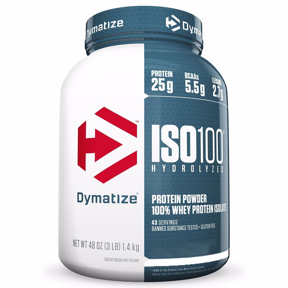 ISO 100 WHEY 3LBS - DYMATIZE