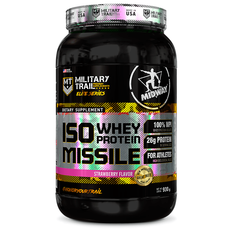 ISO WHEY PROTEIN MISSILE 930G - MIDWAY