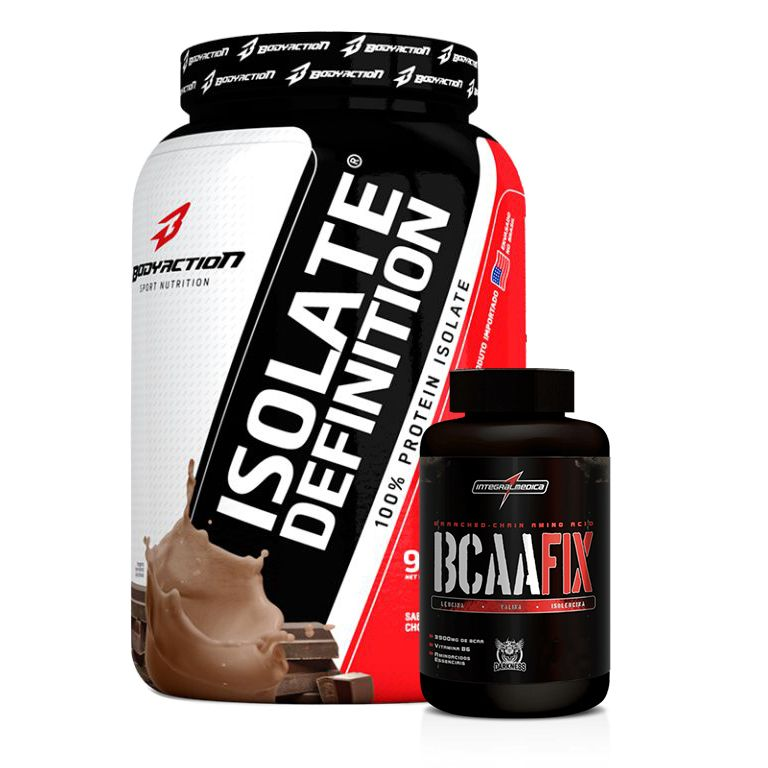 KIT DEIFINIÇÃO MAXIMA - ISOLATE DEFINITION + BCAA FIX