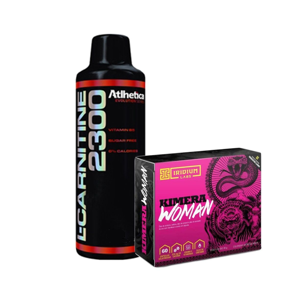 KIT SECA BARRIGA - KIMERA WOMAN + L CARNITINA 2300