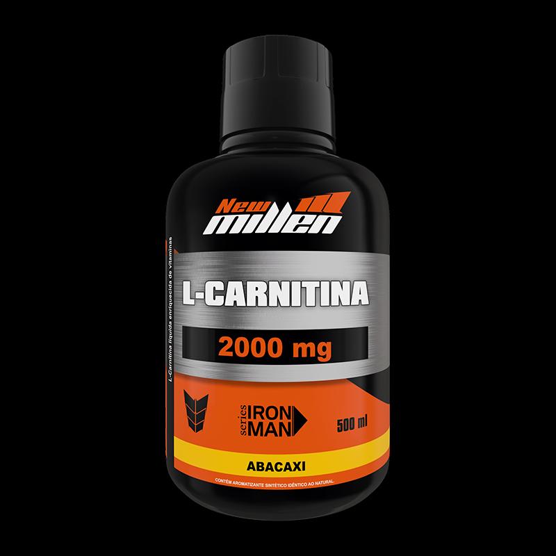 L-carnitina 2000 - NEW MILLEN - 500ML