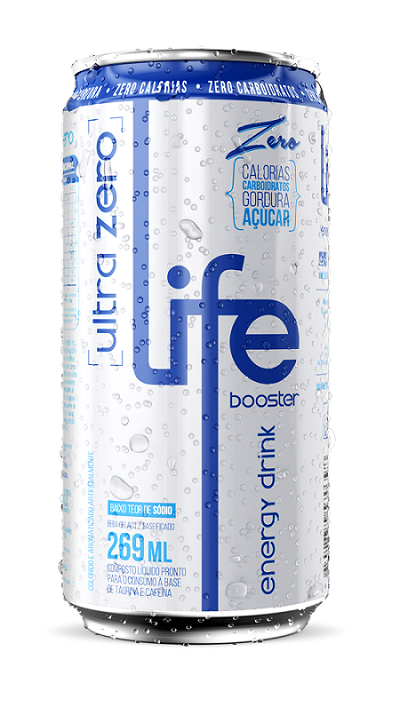 LIFE ULTRA ZERO ENERGY DRINK - LIFE BOOSTER