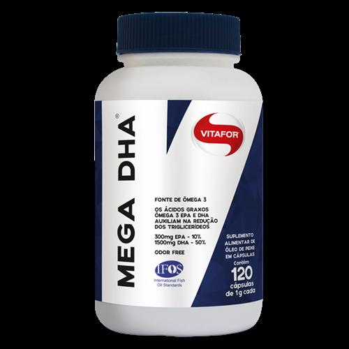 MEGA DHA 120 CAPS - VITAFOR