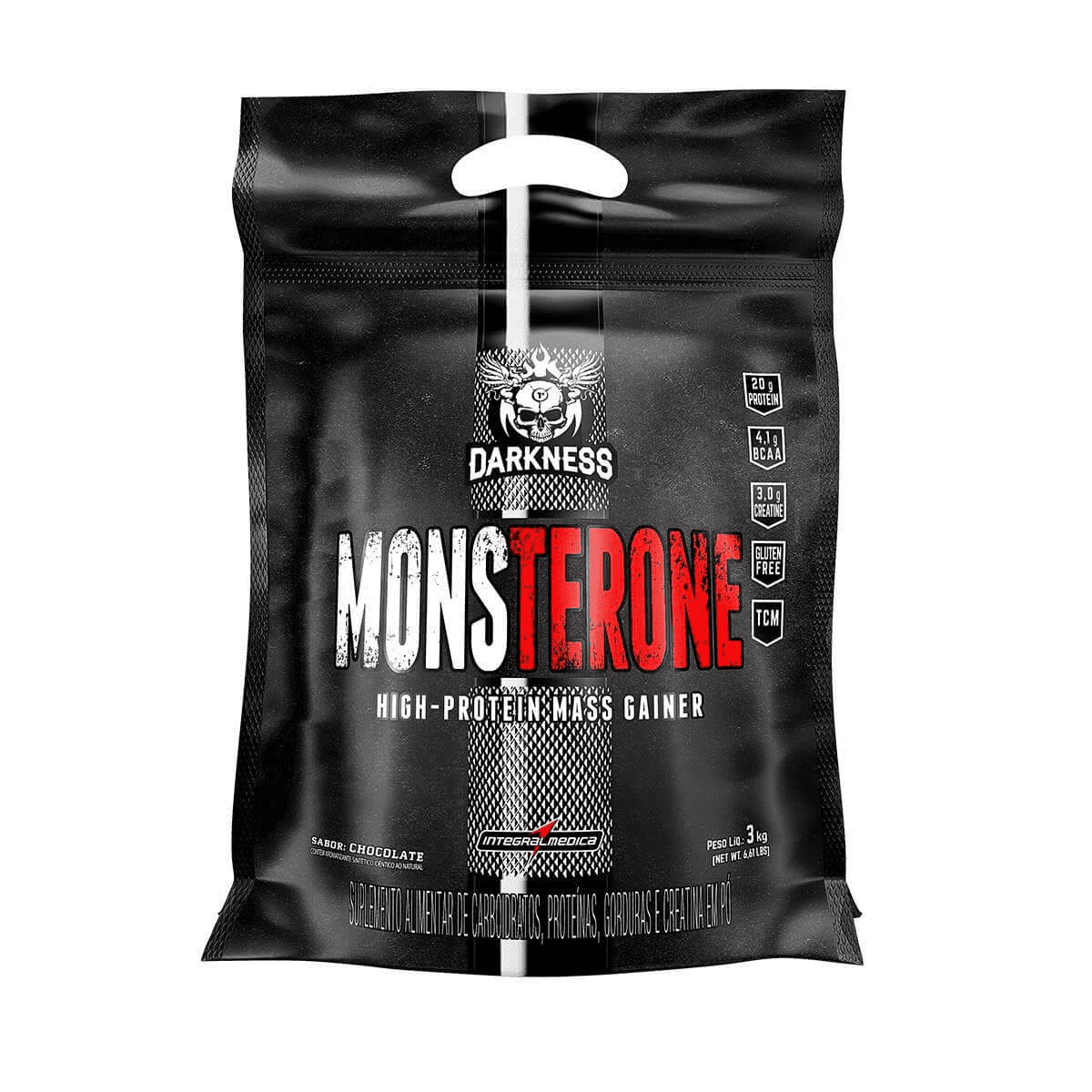 MONSTERONE DARKNESS 3KG - INTEGRALMEDICA