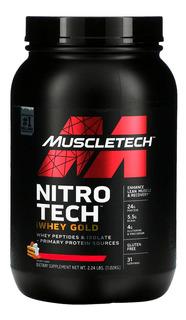 NITRO TECH 100% WHEY GOLD 2,5LBS - MUSCLETECH