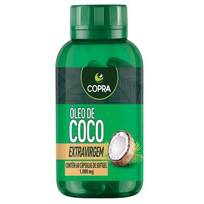 ÓLEO DE COCO 60CAPS. - COPRA